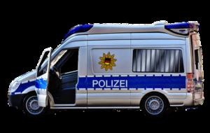 polizei rufen bei Tierunfall