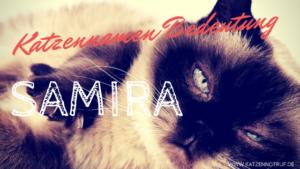 name samira was bedeutet