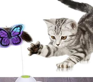 Katzenspielzeug Schmetterling elektrisch